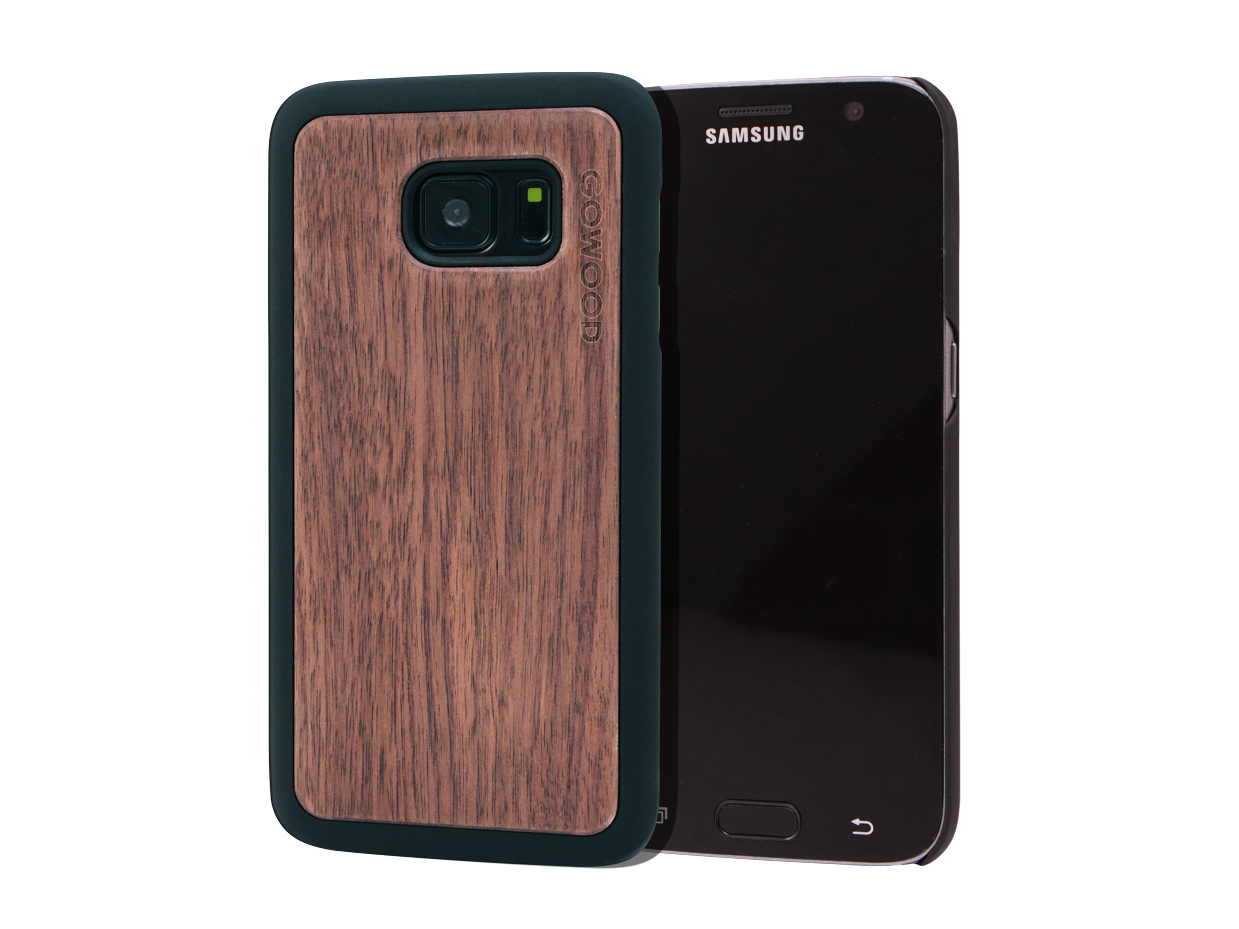 Samsung Galaxy S7 wood case walnut main