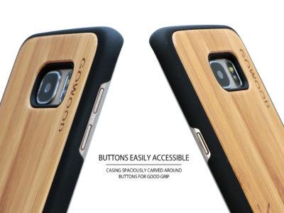 Étui Samsung Galaxy S7 Edge chevreuil buttons