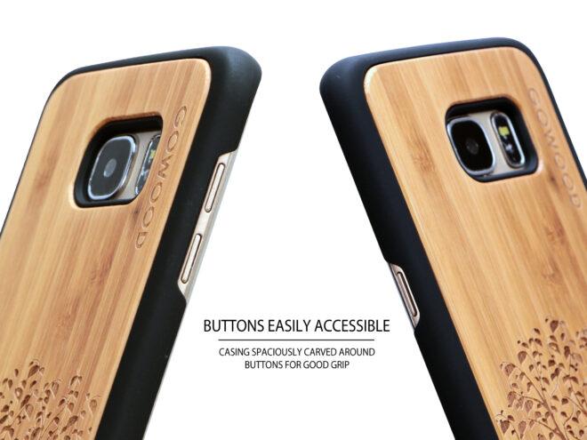 Étui Samsung Galaxy S7 Edge arbre buttons
