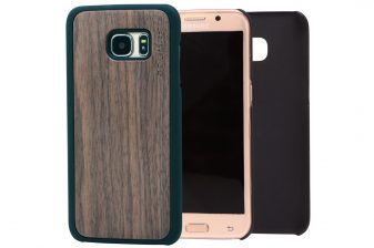 Samsung Galaxy S7 Edge wood case walnut main