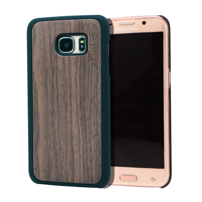 Samsung Galaxy S7 Edge wood case walnut main