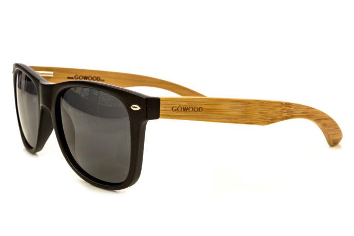 classic wayfarer sunglasses angle