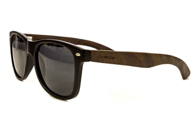 classic wayfarer sunglasses ebony