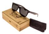 classic wayfarer sunglasses ebony set