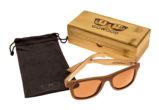 Skateboard wood sunglasses Toulouse set 2
