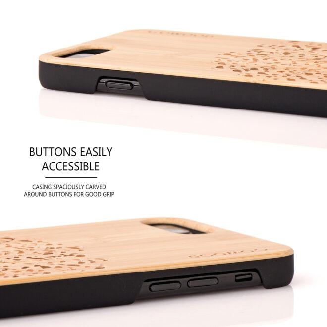 étui iPhone 7 Plus et 8 Plus bambou arbre
