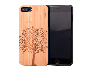 iPhone 7 Plus and 8 Plus wood case tree