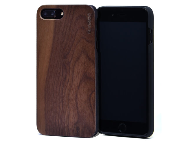 iPhone 7 Plus and 8 Plus walnut wood case
