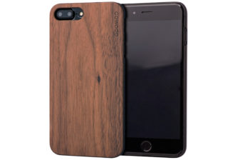 iPhone 7 Plus and 8 Plus wood case walnut