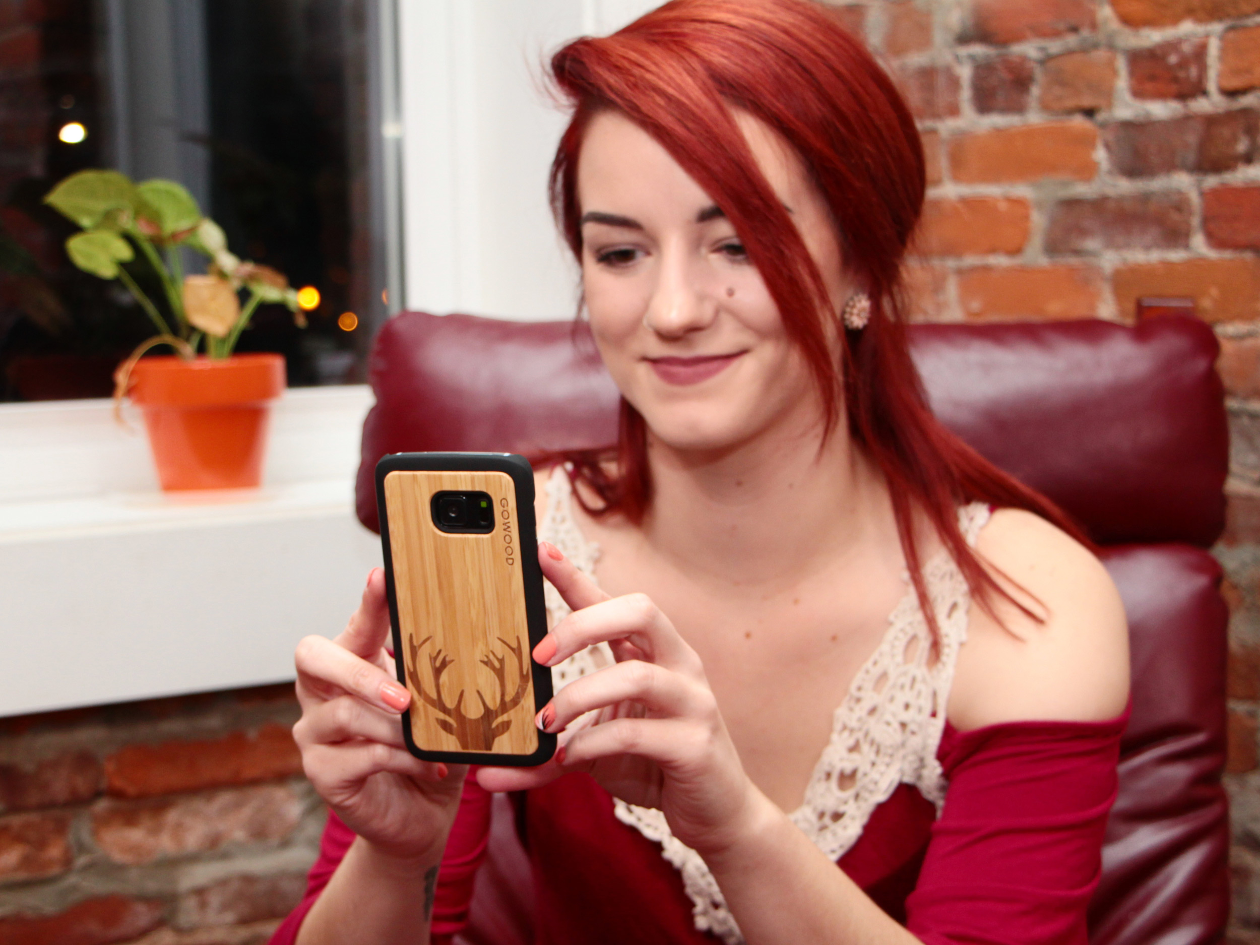 Samsung Galaxy S8 wood case