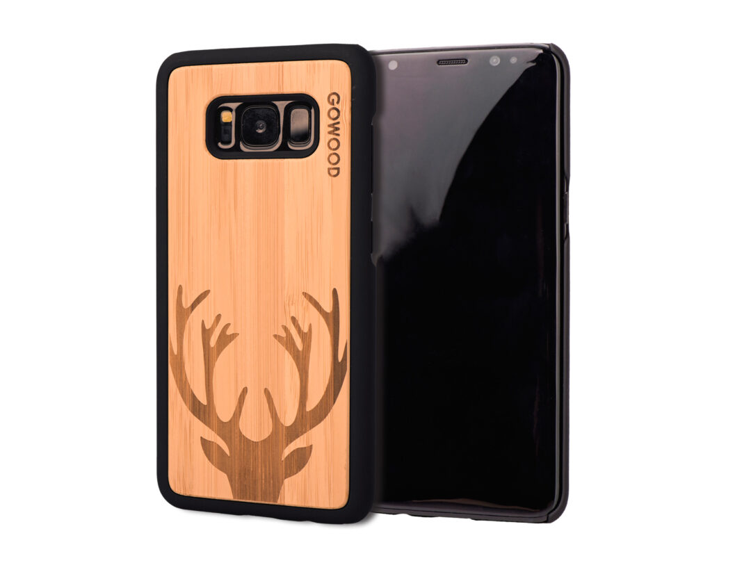 Samsung Galaxy S8 Wood Case Galaxy S8 Case Bamboo Deer Gw