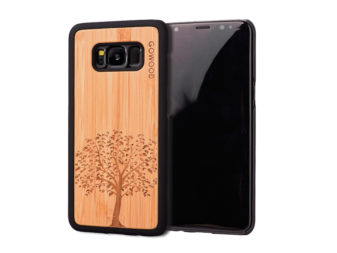 Samsung Galaxy S8 wood case tree