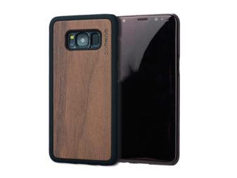 Samsung Galaxy S8 wood case walnut