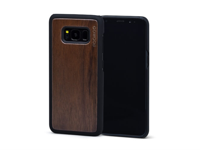 Samsung Galaxy S8 wood case walnut