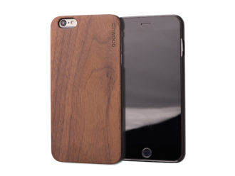 iPhone 6 Plus wood case walnut