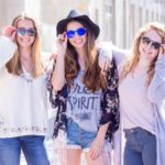Round ebony wood sunglasses models