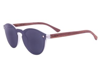 6df342c38fc Round walnut wood sunglasses left ...