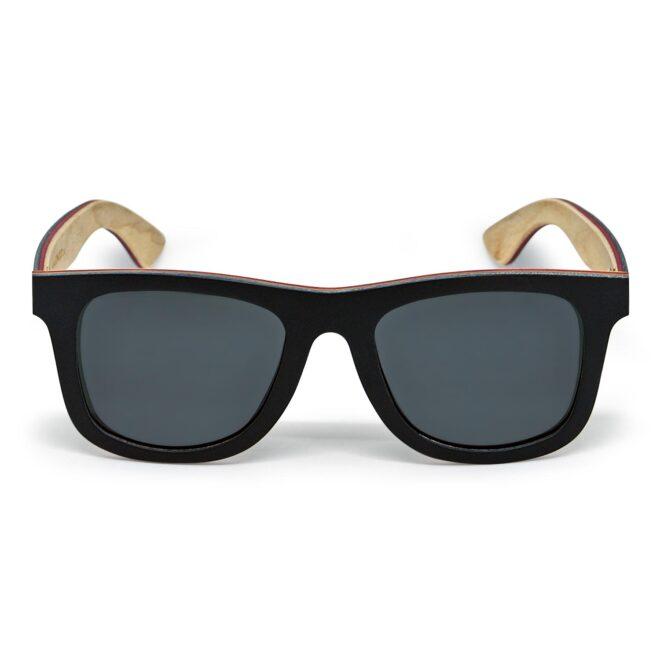 Black maple wood sunglasses