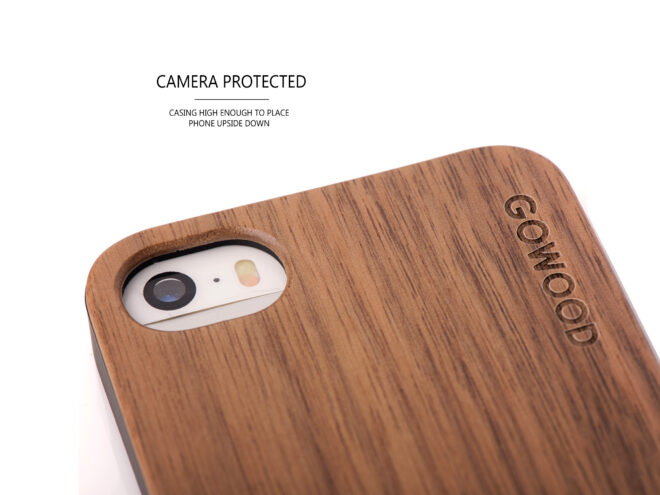 iphone 5 wood case camera