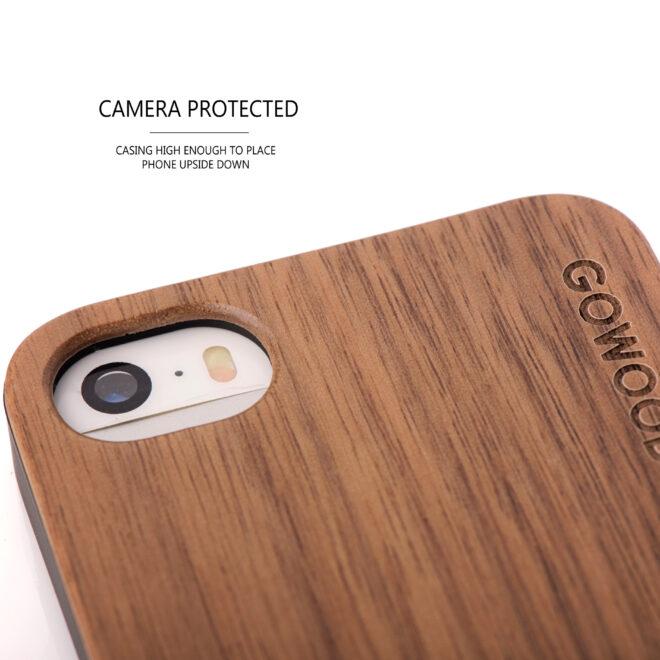 iphone 5 wood case camera
