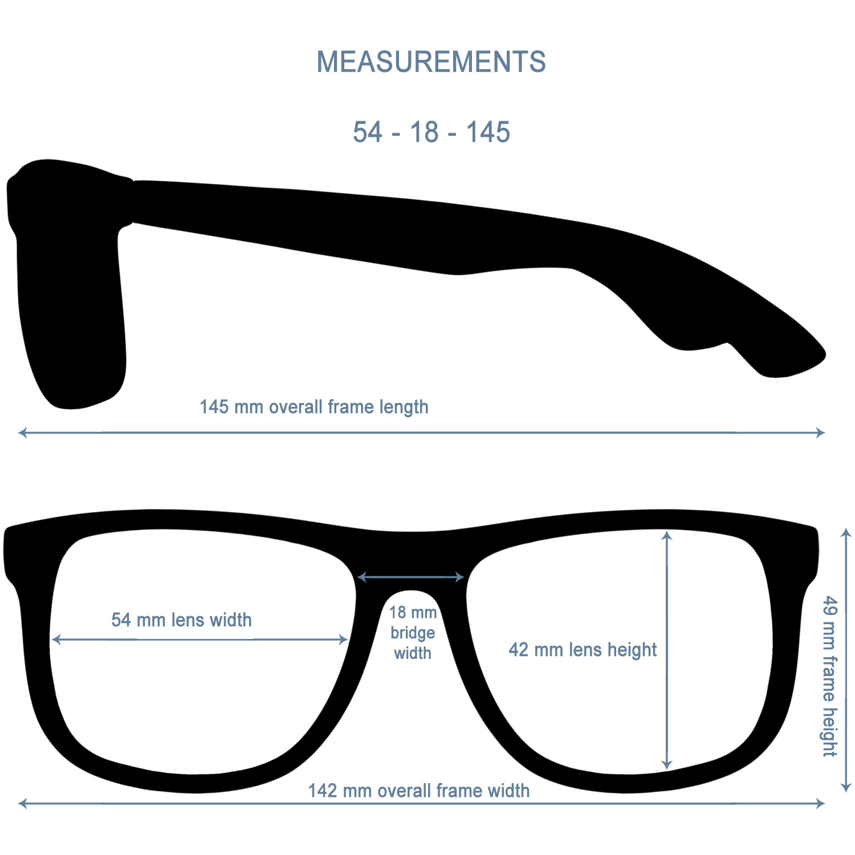 Square bamboo wood sunglasses black polarized lenses specs