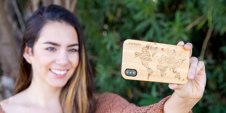 IphoneX wood case