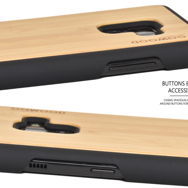 Samsung Galaxy A8 wood case bamboo deer