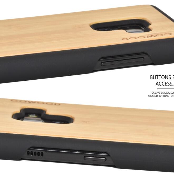 Samsung Galaxy A8 Plus wood case bamboo deer