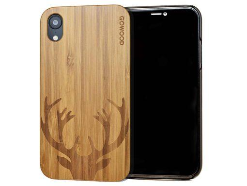 iPhone XR wood case