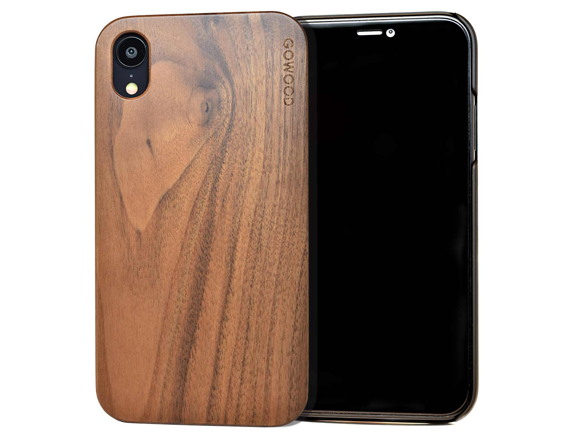 Iphone Xr Wood Case Iphone Xr Case Walnut Go Wood