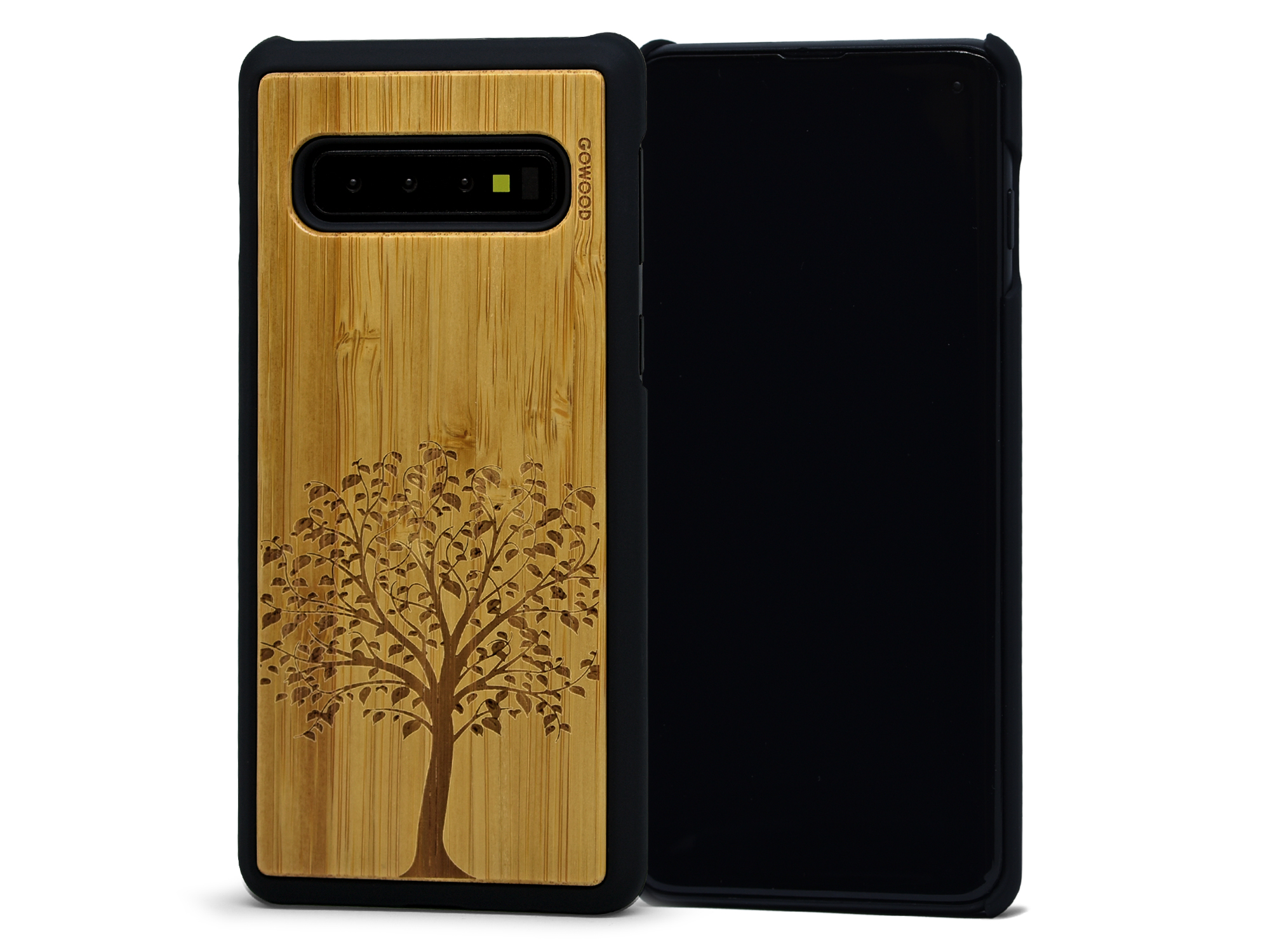 Samsung Galaxy S10 wood case tree