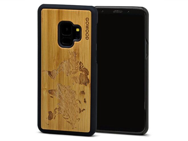 Samsung Galaxy S9 wood case