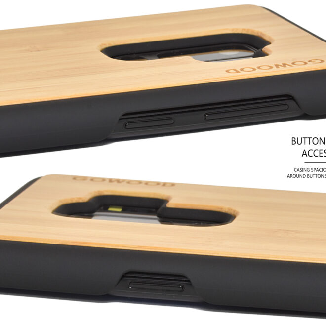 Samsung Galaxy S9 Plus wood case
