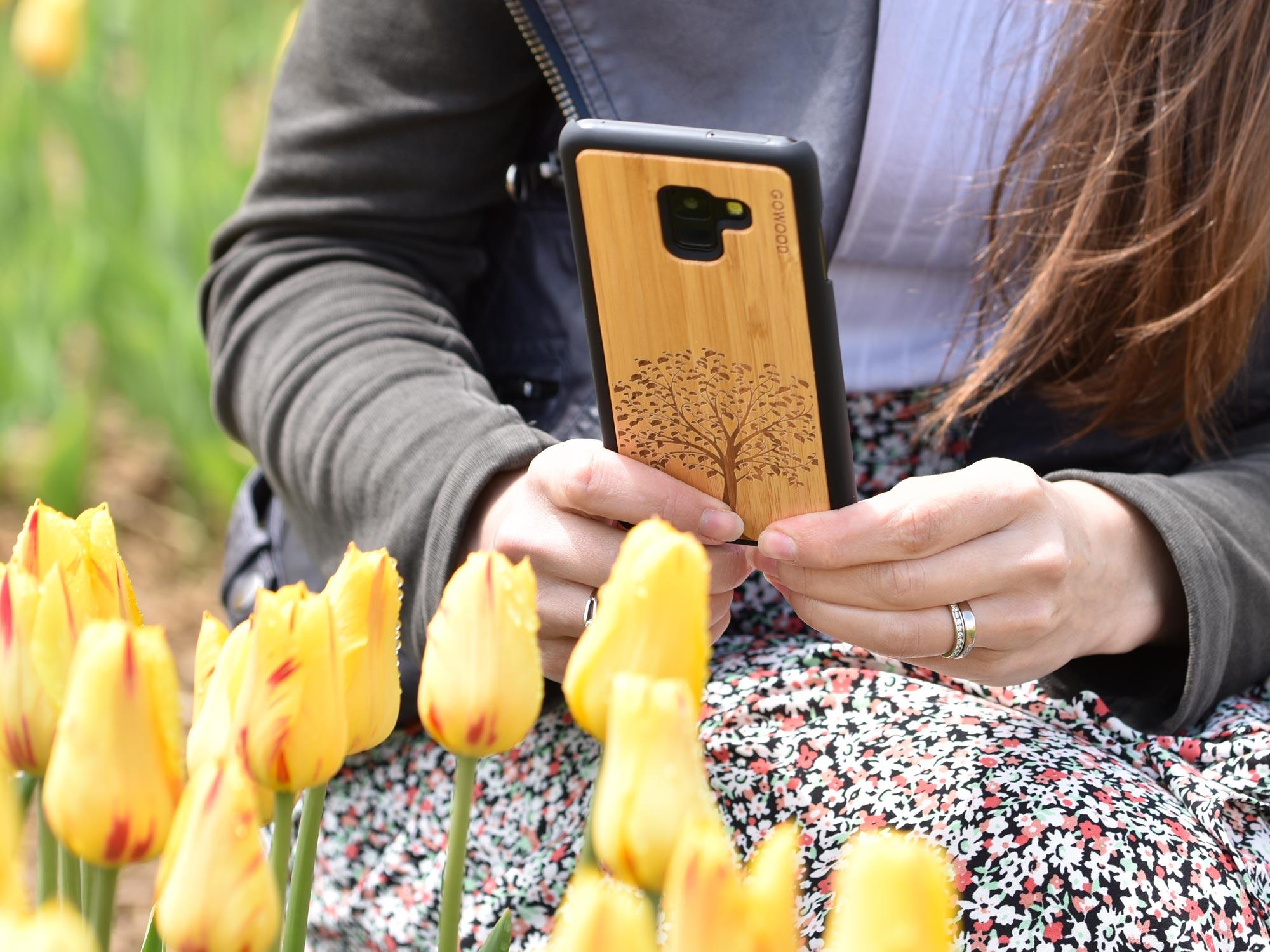 Samsung Galaxy case bamboo tree