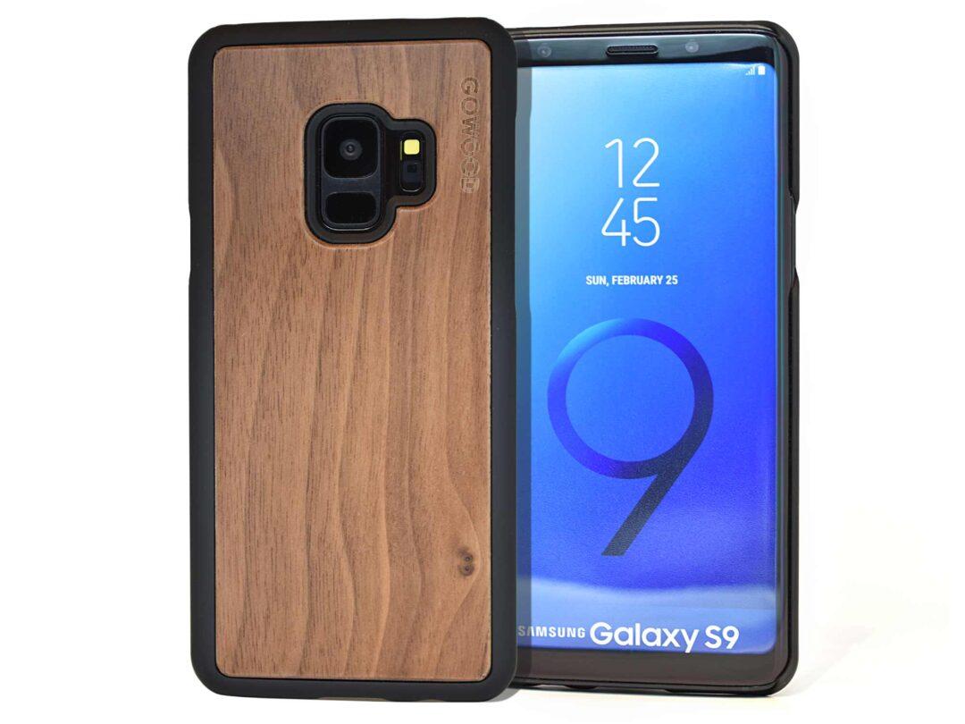 Samsung Galaxy S9 wood case walnut front