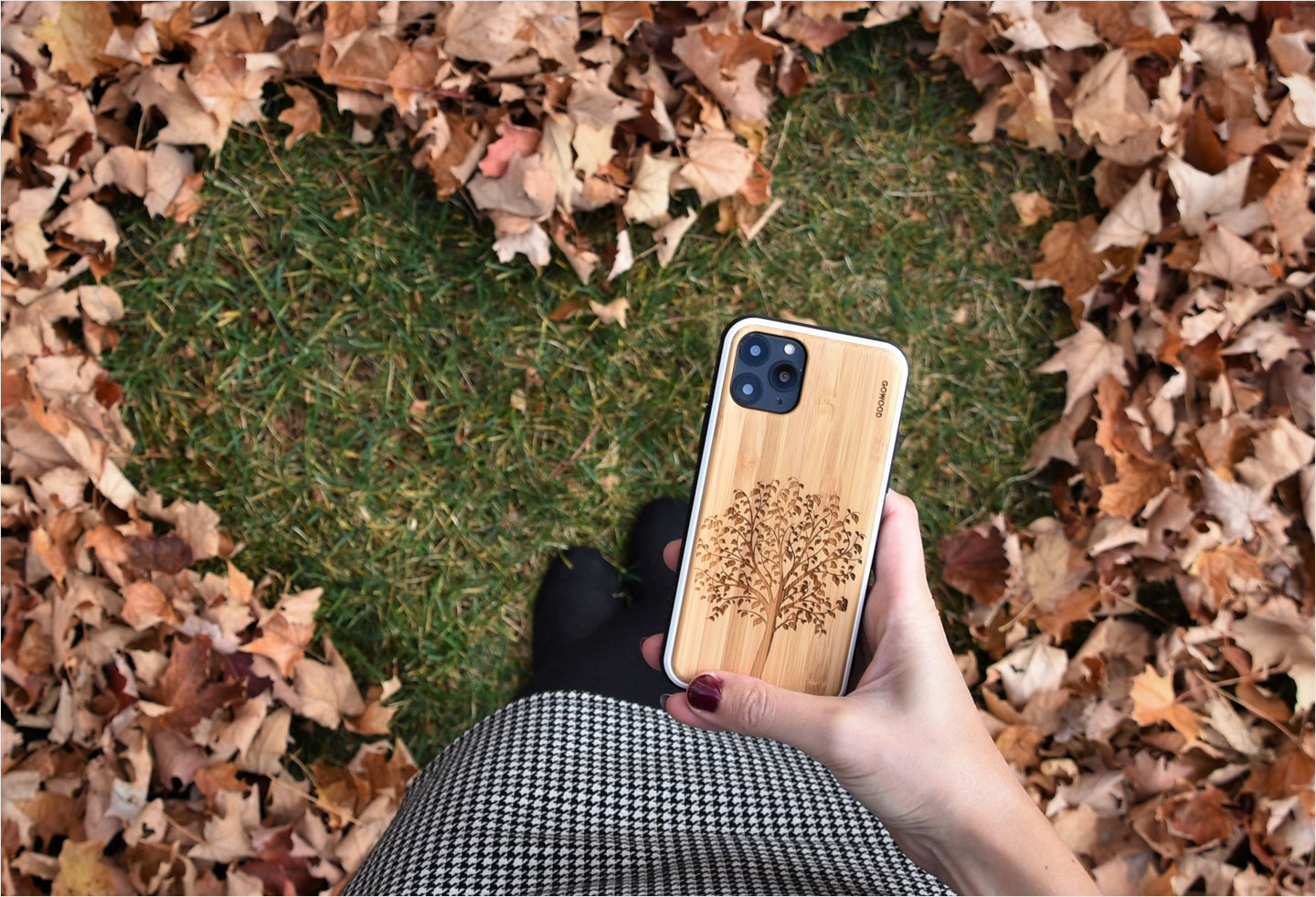 iPhone 11 Pro wood case