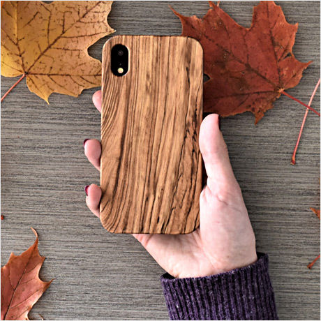 iPhone X/XS wood phone case