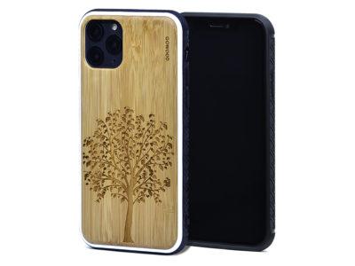 Étui iPhone 11 Pro en bambou arbre