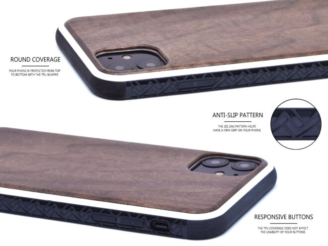 iPhone 11 wood case w