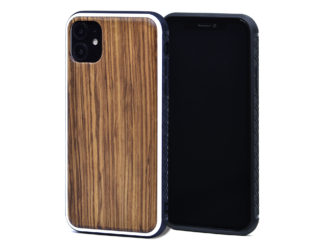 iPhone 11 wood cases zebra front
