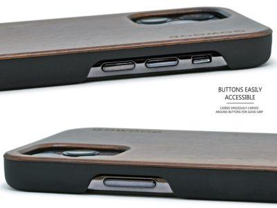 iPhone 11 Pro wood case walnut