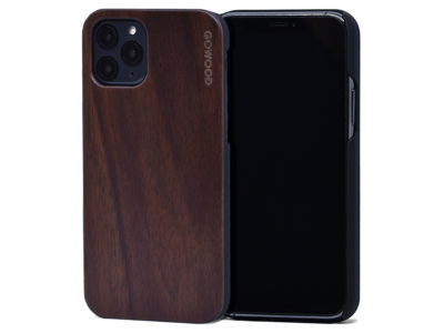 iPhone 11 Pro wood case walnut