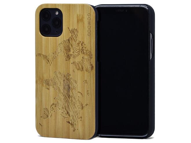Étui iPhone 11 Pro en bois de bambou
