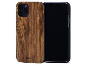 iPhone 11 Pro wood case zebra