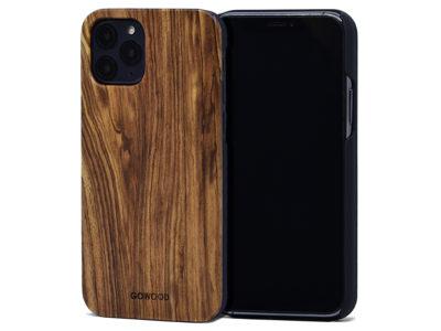 Étui iPhone 11 Pro en bois zébré