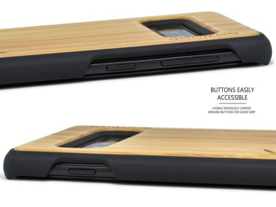 Étui Samsung Galaxy S10 en bois de bambou