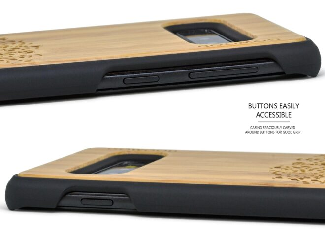 Samsung Galaxy S10 wood case tree