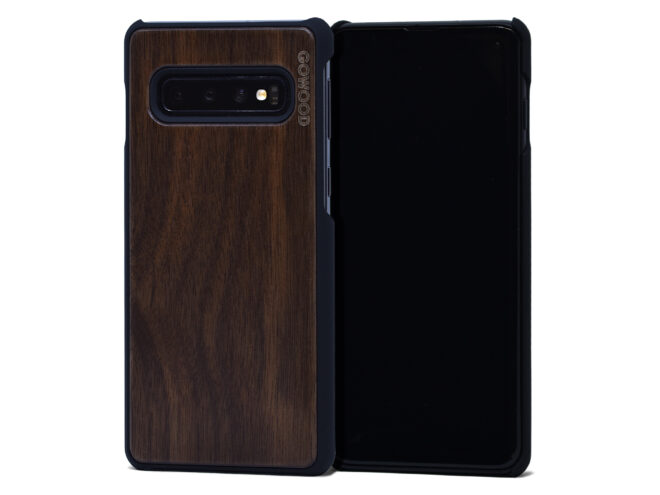 Samsung Galaxy S10 wood case walnut