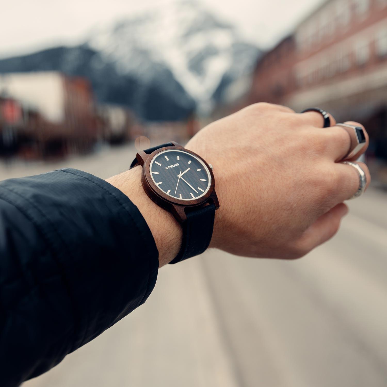 Black Sandalwood Watch