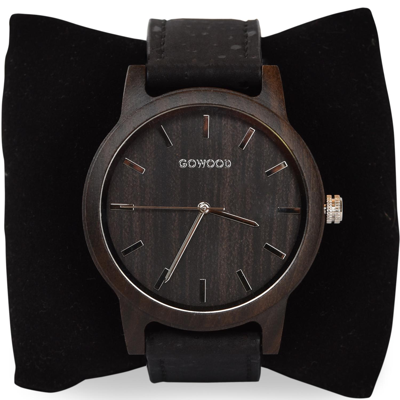 Black Wood Watch